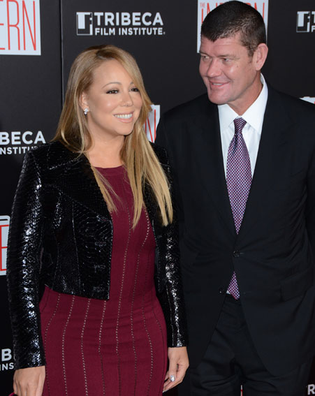 Mariah Carey and James Packer are engaged [Wenn]