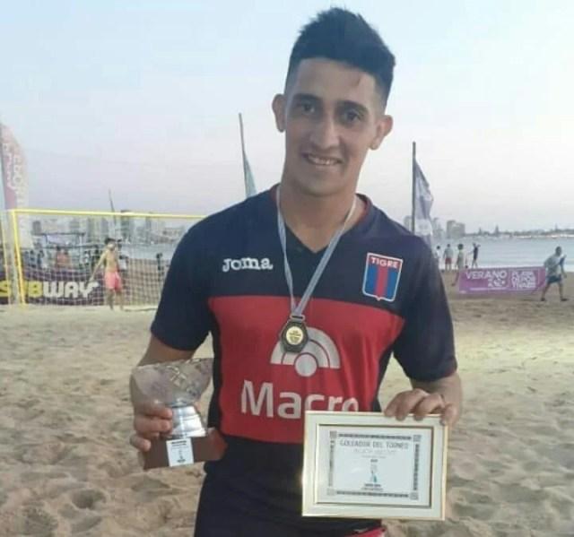 Nahuel Torres, de Tigre, fue elegido como el mejor jugador del torneo.