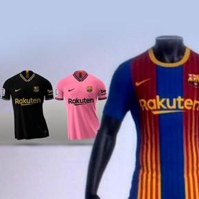 ¿La nueva camiseta del Barcelona?