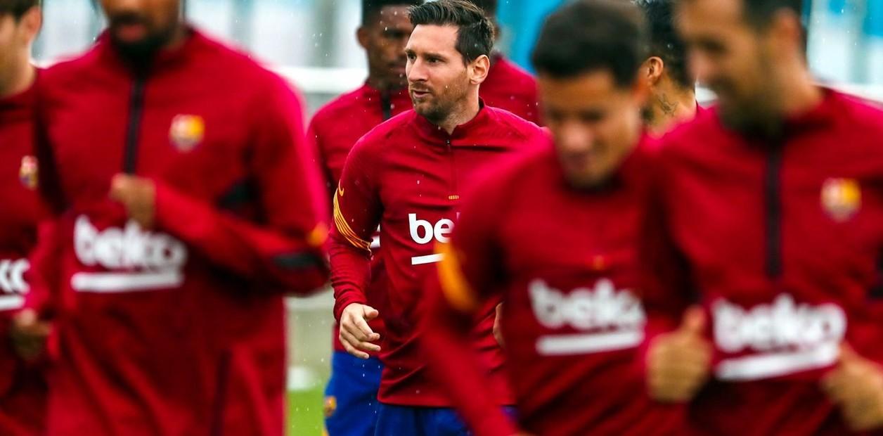 Lionel Messi ya es uno más en el Barcelona