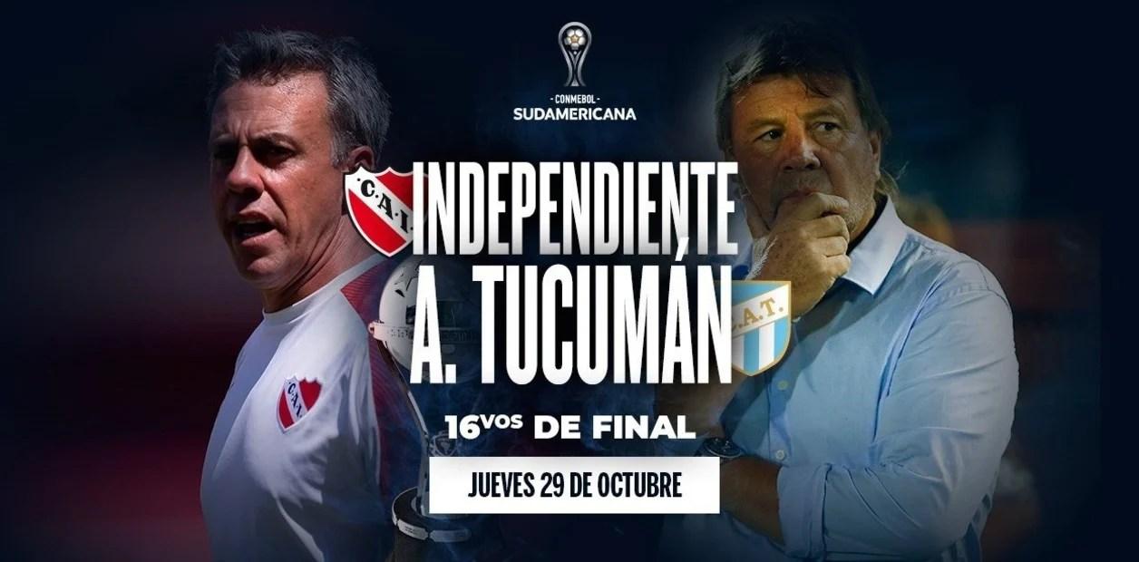 Independiente – Atlético Tucumán: hora, formaciones y por dónde ver el partido en vivo