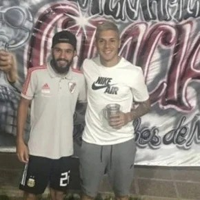 The post of Enzo Pérez's brother that reassures River