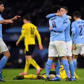 City suffered but could beat Dortmund