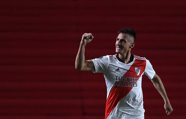 Romero celebra (AFP).
