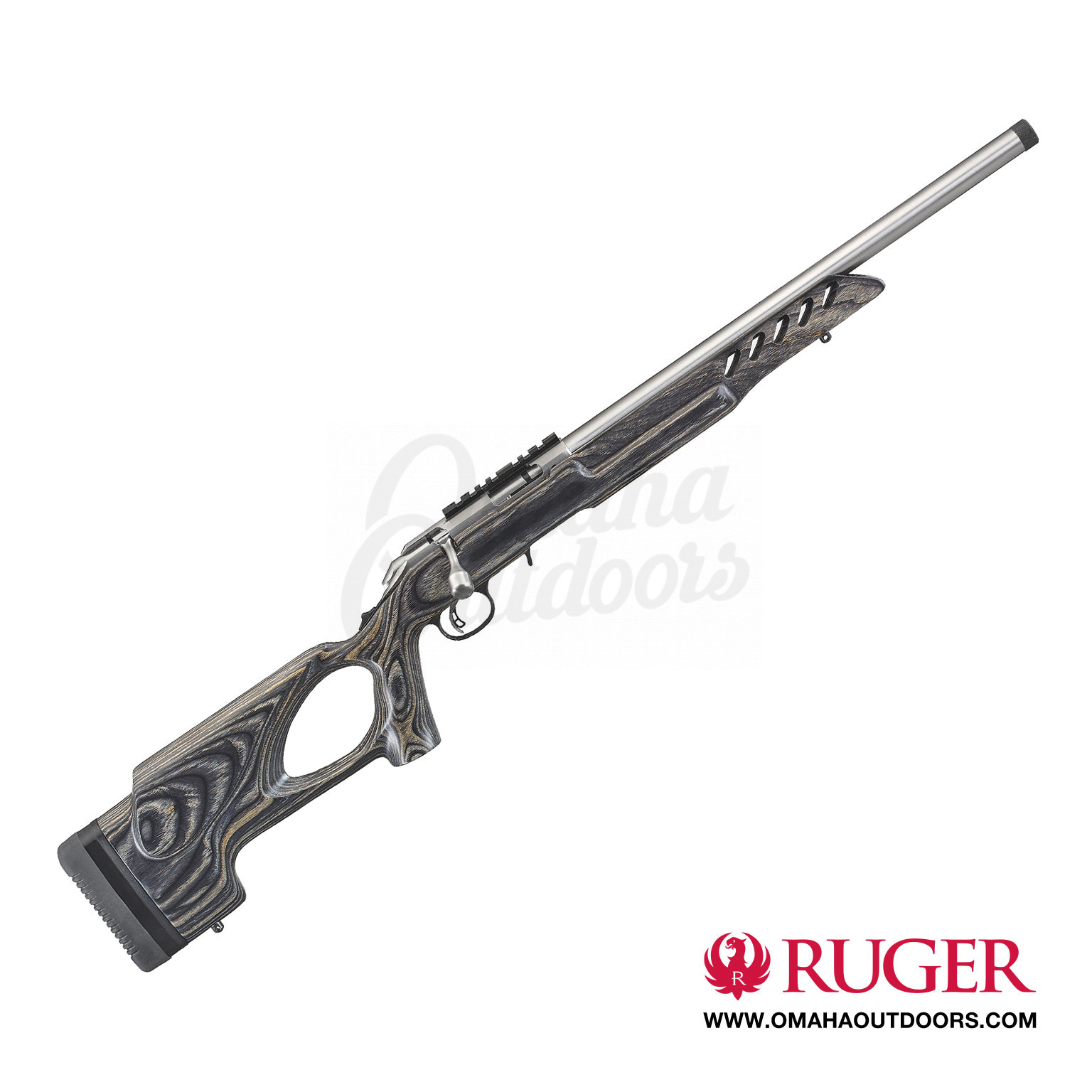 Ruger American Rimfire Target Stainless Bolt Rifle 22lr 10