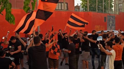 Bnei Yehuda fans (Shahar Gross)