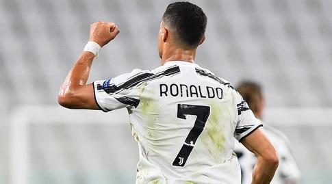 Cristiano Ronaldo Celebrates (Reuters)