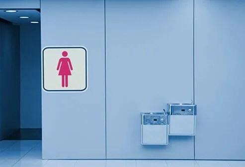 Sex improves women's bladder control.