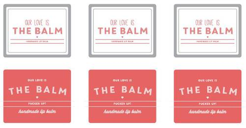 Lip Balm Label Templates Download Lip Balm Label Designs
