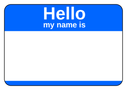 Image result for name tag