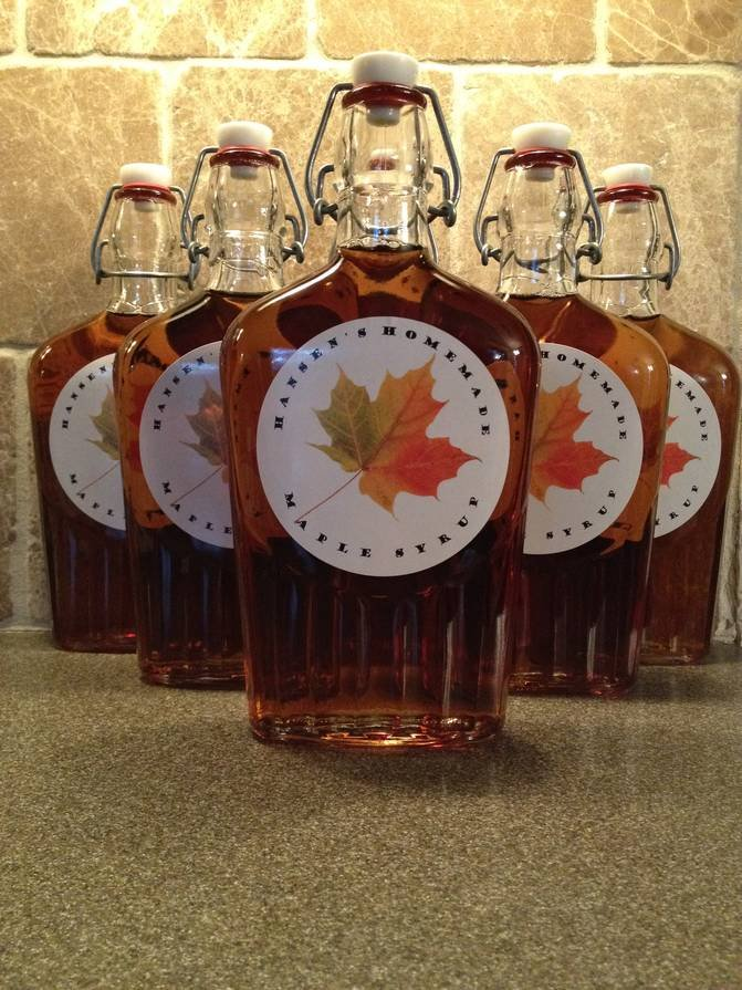 Homemade Maple Syrup Labels Customer Ideas