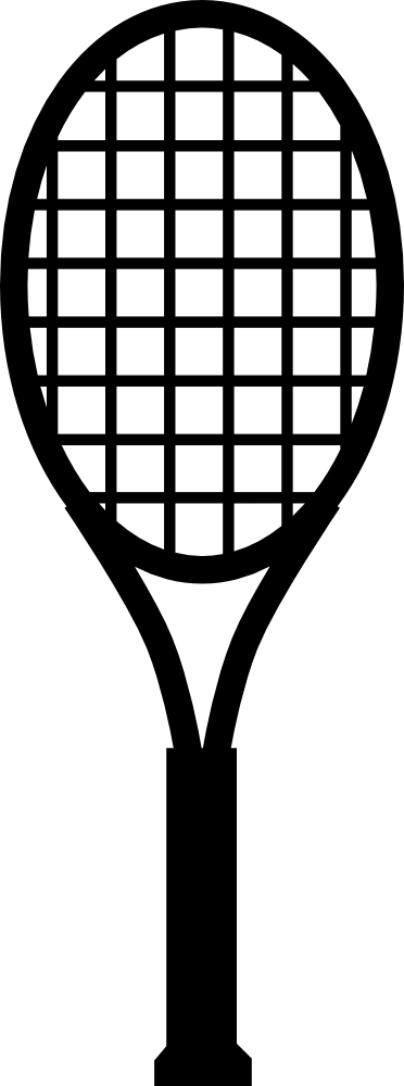 OnlineLabels Clip Art - Tennis Racket