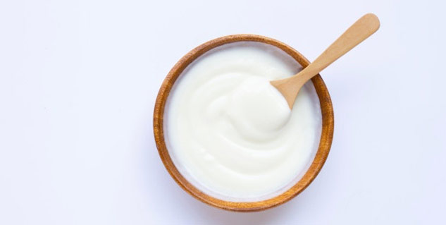 Curd is a great natural skin cleanser