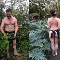 Nudist idea #32: Participate in World Naked Gardening Day