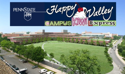Happy Valley Campus Kiwi Express