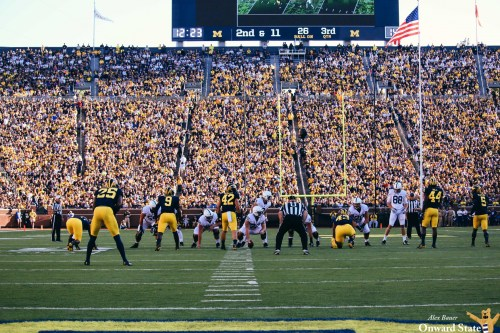 Michigan Football Trolls Penn State With Attendance Graphic Rip-Off