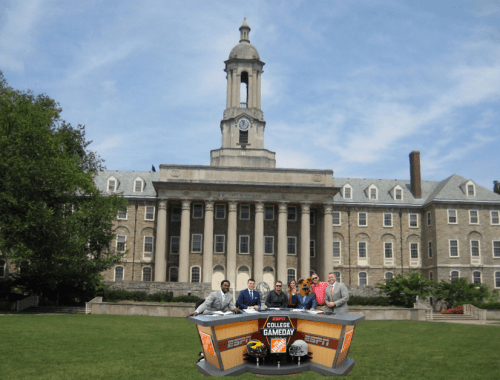 Pros & Cons Of Holding College GameDay On Old Main Lawn