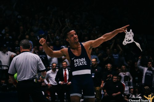 Penn State Wrestling Clobbers Arizona State, Mark Hall Knocks Off Top-ranked Zahid Valencia