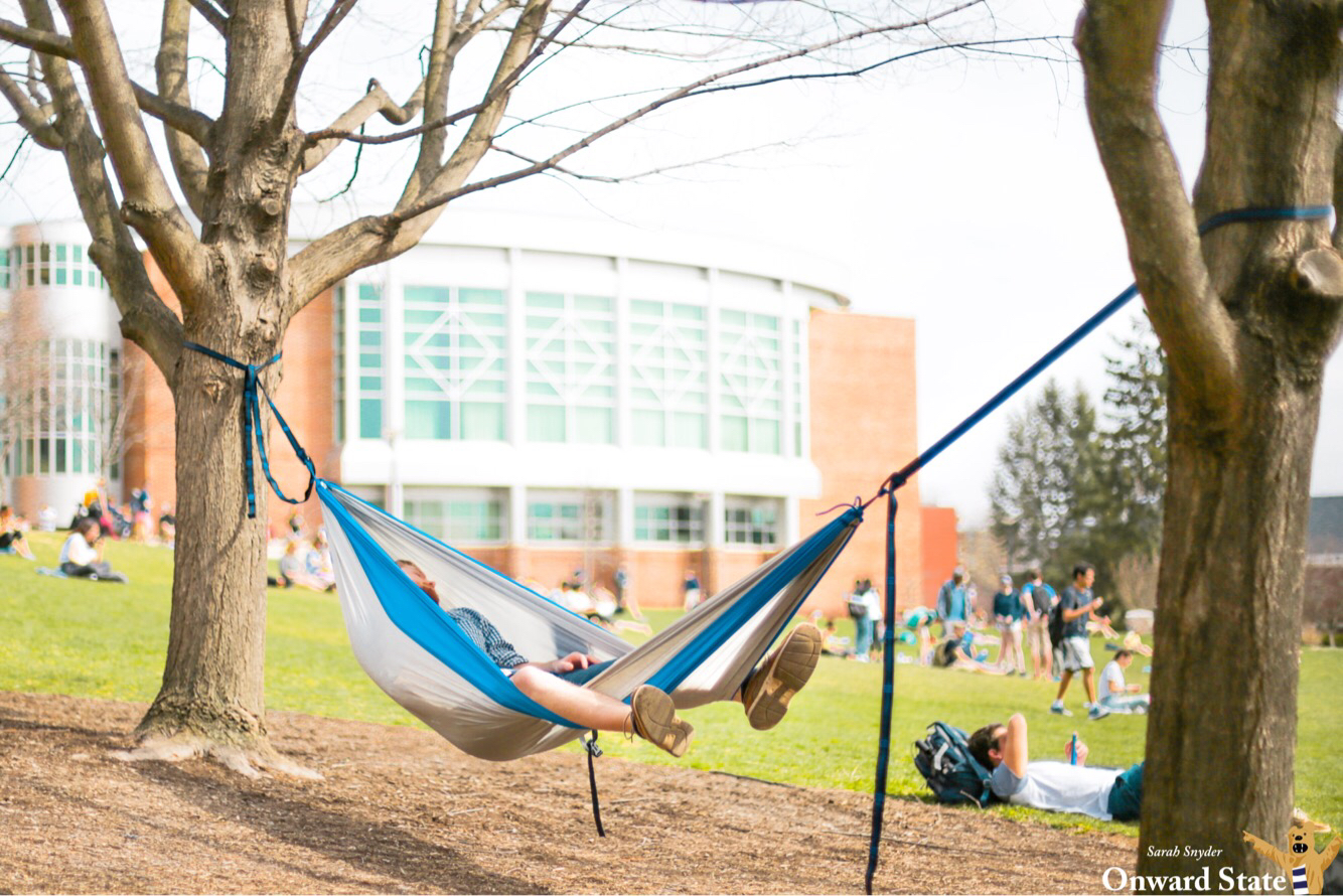 Stay Strapped: Reconsidering Penn State's Hammock Ban