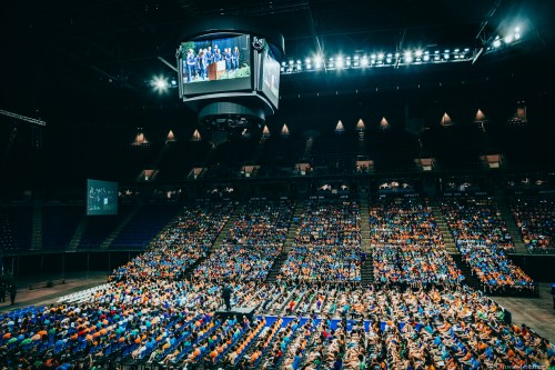 Penn State Officially Welcomes Class Of 2022 At Convocation