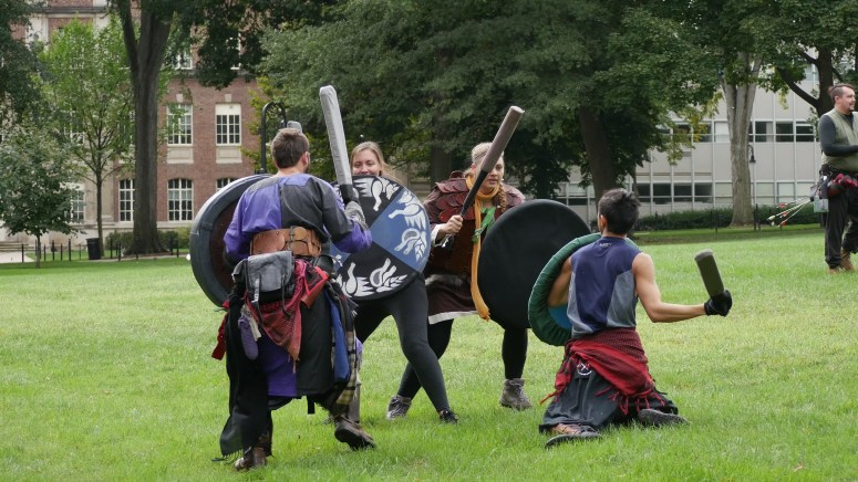 Video] Happy Valley LARP: Medieval Combat Club Battles On