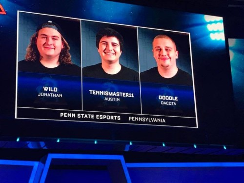 Penn State Esports Reaches Collegiate Rocket League National Championships