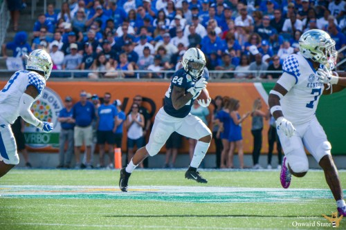 Miles Sanders Continues To Boost Draft Stock With NFL Combine Performance
