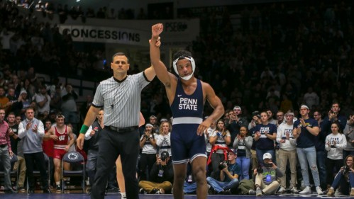 No. 1 Penn State Wrestling Scores One Bonus Point, Still Blows Out No. 7 Nebraska