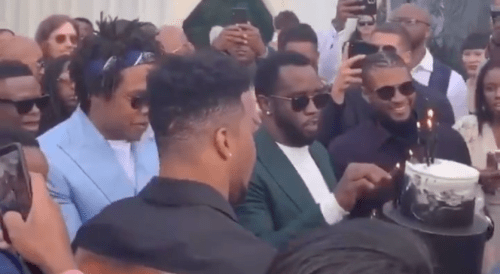 Saquon Barkley Gets Birthday Toast From Jay-Z, Usher, & Diddy