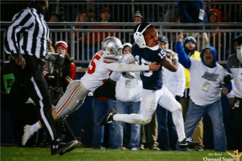 Penn State Wrestlers Troll Ohio State With Blocked Kick Re-Enactment