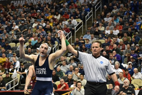 Nine Penn State Wrestlers Receive Preseason InterMat Rankings