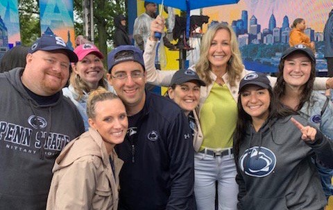 Lara Spencer Shouts Out Penn State On Good Morning America