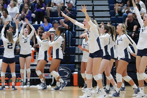 Penn State Women's Volleyball Bounces Back Against Pitt In Five-Set Thriller