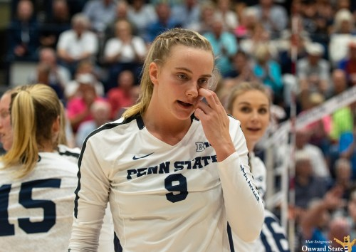 Penn State Women's Volleyball Overpowered By Stanford In Elite Eight Sweep