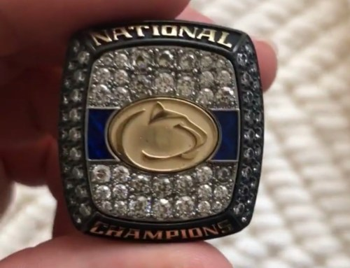 Penn State Wrestling's Newest NCAA Champion Rings Are ICY