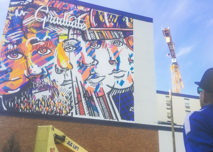 Graduate Hotel Mural Presents Depiction Of Unity And Being Enough Onward State