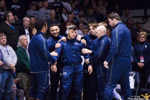 No. 2 Penn State Wrestling Defeats No. 3 Ohio State 20- 16 At Bryce Jordan Center