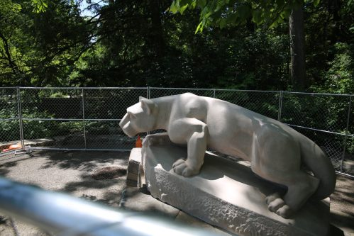 Nittany Lion Shrine Renovations Finished