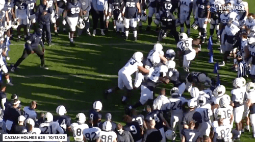 Penn State Freshman Running Back Caziah Holmes Impresses With Practice Highlight