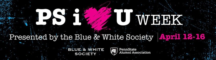 Blue & White Society To Hold PS i(heart)U Week Starting April 12