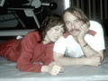 John and daughter Mackenzie Phillips