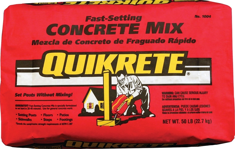 50 Setting Concrete Quikrete Fast Lb Mix