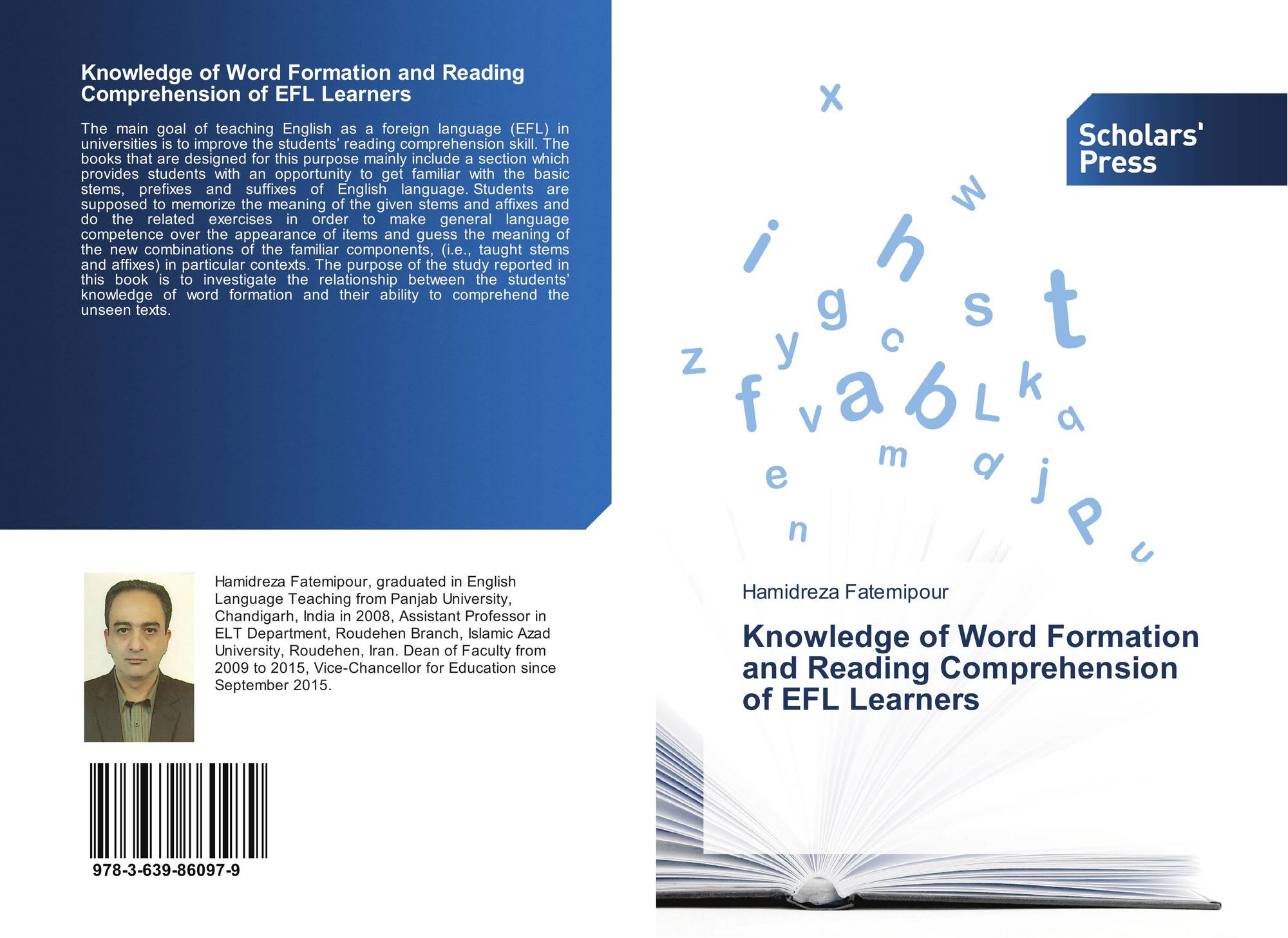 Knowledge Of Word Formation And Reading Comprehension Of Efl Learners 978 3 639 9