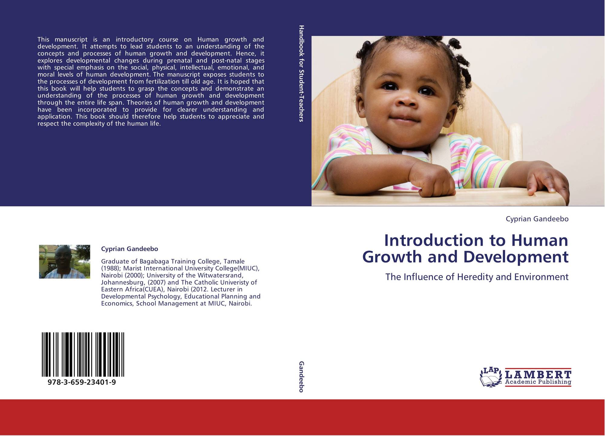 Introduction To Human Growth And Development 978 3 659