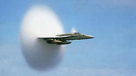 You think this is a sonic boom – but it's not