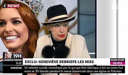 Miss France 2018 : Maëva Coucke a-t-elle triché ? Geneviève de Fontenay s'interroge