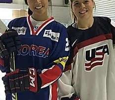 Ice hockey sisters face off for rival nations at Olympics