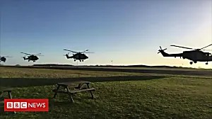Army bids farewell to Lynx helicopter