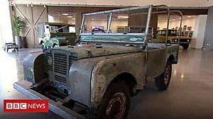 Restoration plans for early Land Rover