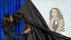 Michelle Obama portrait faces brutal mockery, some praise after unveiling
